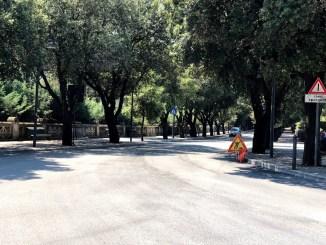 Spoleto, terminati i lavori di asfaltatura in viale Matteotti