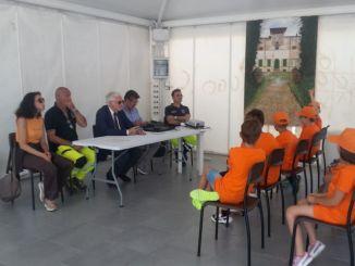 Prociv Spoleto, anch'io sono la protezione civile, primo campo scuola