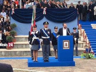 Matteo Salvini in Umbria, sicurezza, in arrivo decine di unità di rafforzamento