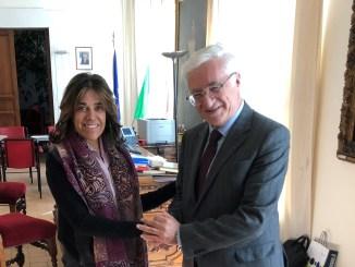 Sindaco de Augustinis riceve ambasciatore della Colombia