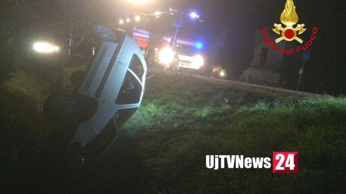 Incidente stradale a San Brizio Spoleto, week end d'inferno in Umbria