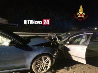Carambola di auto sulla Somma, frontale e tamponamento, ci sono feriti