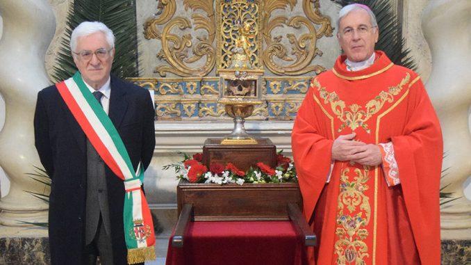 Spoleto, celebrato solenne Pontificale S. Ponziano, molti i fedeli presenti
