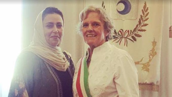 La presidente dello Spoleto ricevuta dal sindaco di Fiesole