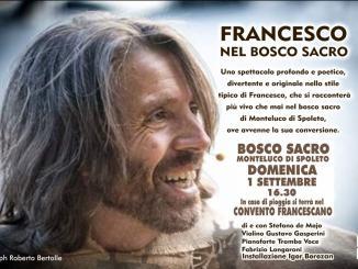"""A Monteluco lo spettacolo """"Francesco nel Bosco Sacro"""""""