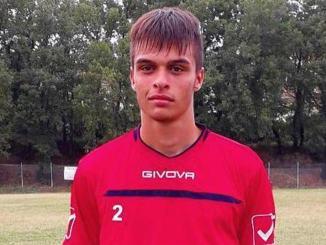 Alessio Rosati, terzino sinistro per la SSD Spoleto Calcio, intervista