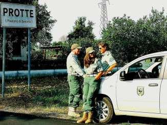 WWF, arrivano guardie e si danno alla fuga tra i girasoli