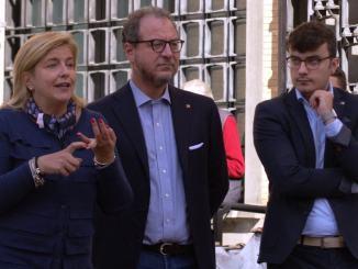 Giorgio Mulè interviene a Spoleto a sostegno dei candidati Ugolini e Verucci