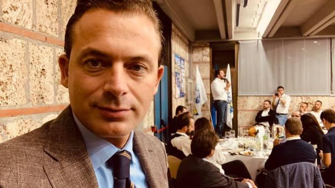 Elezioni, Tesei, Salvini e Cantalamessa a Spoleto per il candidato David Militoni