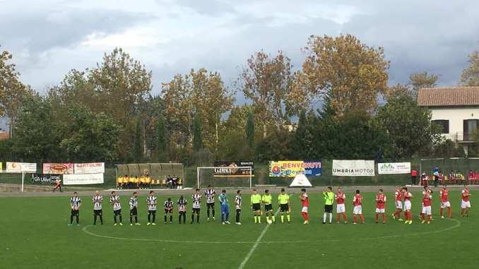 Grande prestazione sportiva dello Spoleto Calcio 1-0 con Vivi Alto Tevere Sansepolcro