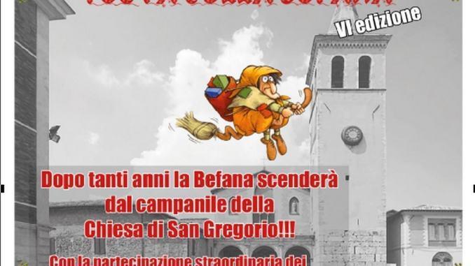 Befana Croce Rossa scenderà dal campanile di San Gregorio