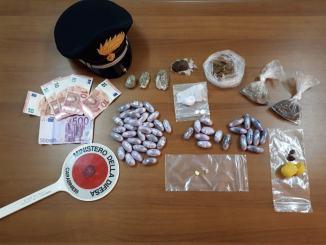 Gran Bazar della droga, i Carabinieri di Spoleto arrestano due pregiudicati