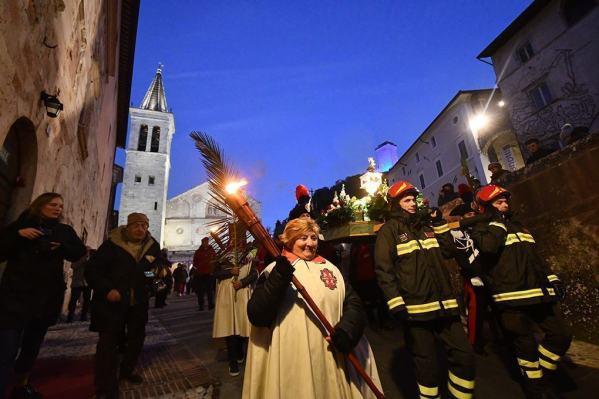 Processione di San Ponziano: tantissima gente presente