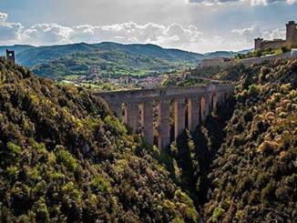 Passeggiata da Anello di Monteluco a Spoleto, 1 Marzo 2020.