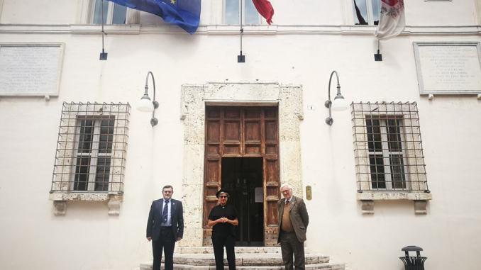 Monique Veaute a Spoleto, questa mattina l'incontro con il Sindaco