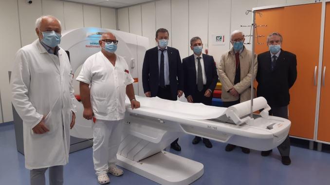 Ospedale di Spoleto San Matteo degli Infermi, inaugurata la nuova tac