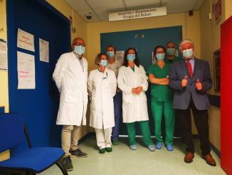 Lions Club di Spoleto, donazione alla terapia intensiva dell'ospedale