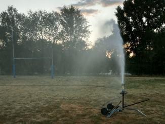 Ultimati lavori per irrigazione campo di rugby di San Nicolò a Spoleto