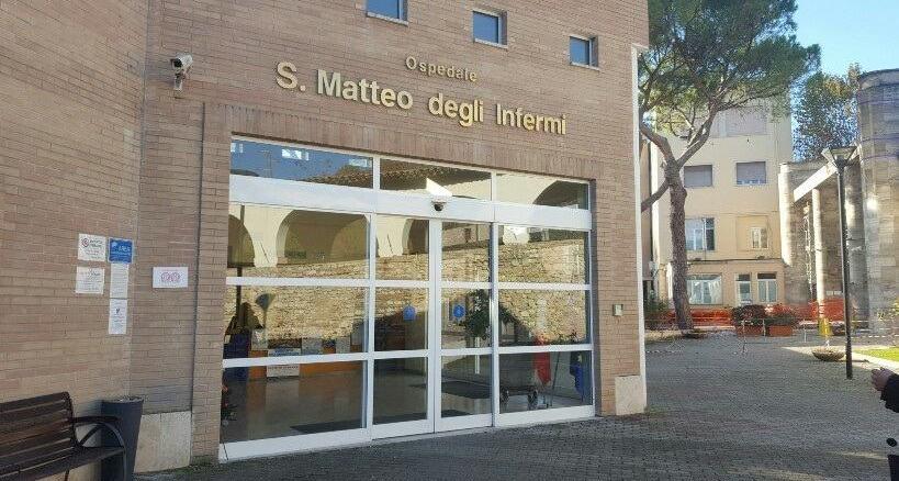 Spoleto, l'ospedale viene integrato nella rete umbra di ospedali Covid