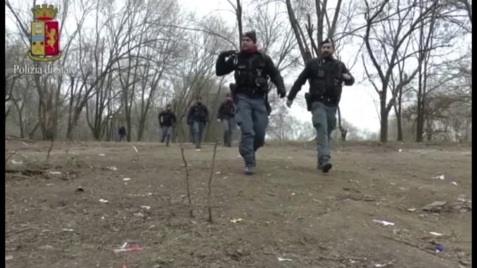 Tra gli olivi a Petrograno, la polizia ha trovato 3 chilogrammi di cocaina