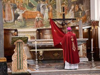 Spoleto celebrazioni della Settimana Santa presiedute dall'Arcivescovo