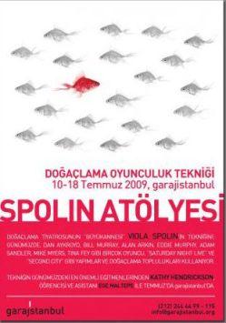 İlk Spolin Atölyesi Afişi Kathy Hendrickson İstanbul'da!