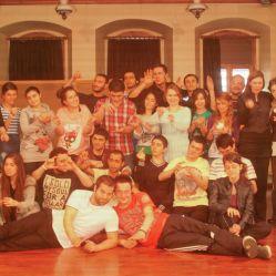 12. Uluslararası Trabzon Tiyatro Festiveli'ndeki 2 günlük atölyeden sonra