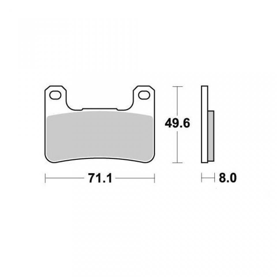 Brake Pad Ap Racing Suzuki Motorcycle 750 Gsxr 2004