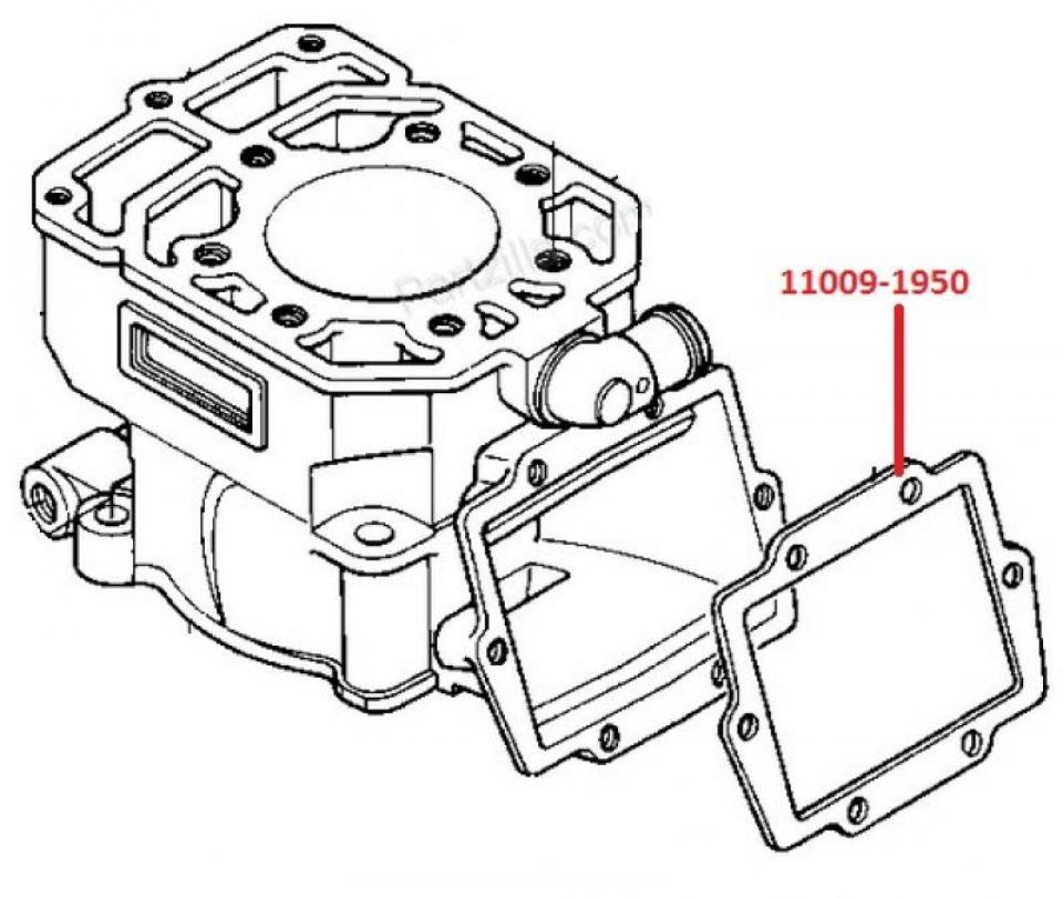 Joint DE Clapet Origine Moto Kawasaki 250 KX 1982 À 2000