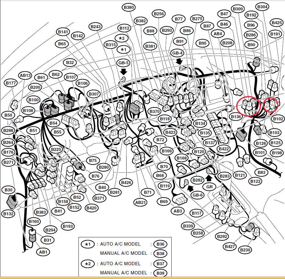 1990 Subaru Legacy Fuse Box Diagram 1990 Mercury Topaz