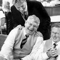 Spontane Fotografie De Lachende Mannen