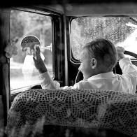 Spontane Fotografie behind the wheel