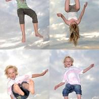 Spontane Fotografie jump for joy
