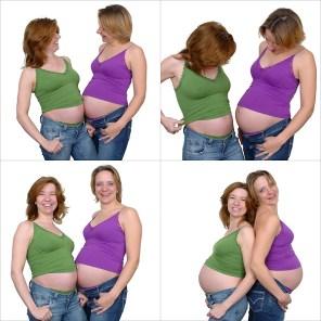 Spontane Fotografie zwanger I