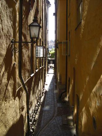 Stockholm 2008 - Winzige Gassen sind typisch