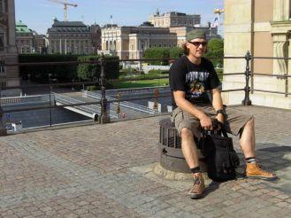 Stockholm 2008 - Ausruhen in der Sonne