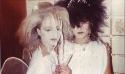 lisa and me 1984, fancy dress at the wheatsheaf
