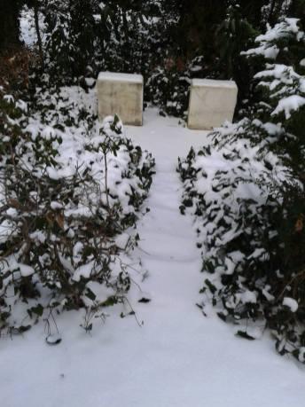 Friedhof Grunewald - Namenloses Paar