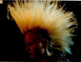 Mone 1989 mit blondem Iro