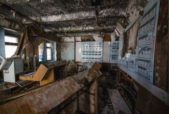 Tschernobyl 2016 - Duga3 Gebäude 2