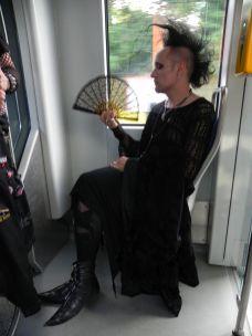 WGT 2012 - Robert in der Tram