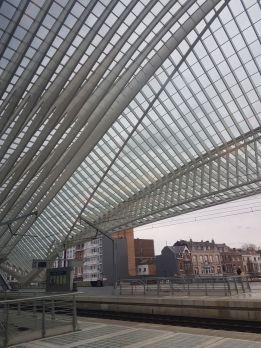 Der Bahnhof von Lüttich ist schon sehr gelungen irgendwie.