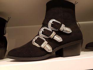 Das einzige, was irgendwie an Szene erinnerte, war dieser Paar Schuhe auf der King's Road für schlappe 240 Pfund.