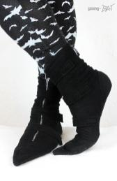 Goth Slippers - Pikes Hausschuhe (1) - young Bat