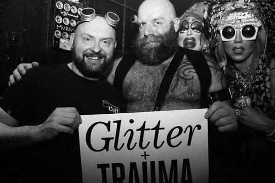 Glitter und Trauma - Titel
