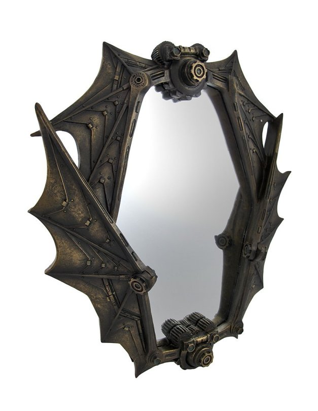 Things2die4 Bat Wing Mirror