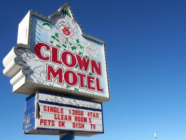 OTIS visits the Clown Motel and Tonopah Cemetery