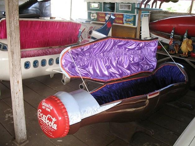 Customized coffins