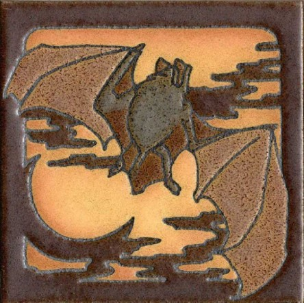 Revival Bat Motifs. via Art of Darkness