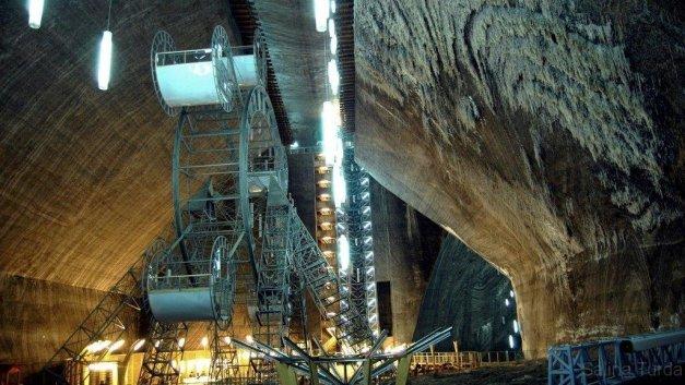 Salina Turda, Underground Amusement Park